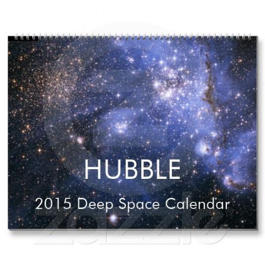 HUBBLE 2015 Deep Space Calendar by astara at Zazzle.com