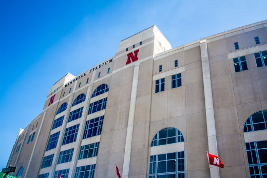 Memorial Studium, Lincoln Nebraska, home of the Nebraska Cornhuskers