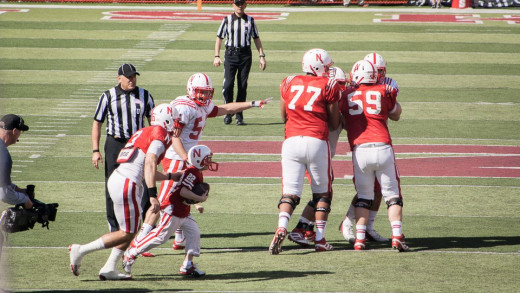 Team Jack, an ESPN moment during the 2013 Nebraska Spring football game (scrimmage)