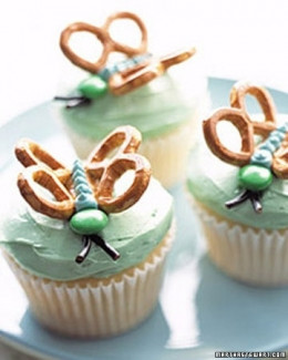IDEA: Butterfly Cupcakes!