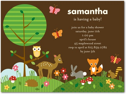 16 beautiful butterfly baby shower invitations hubpages polka dot butterflies and forest animals filmwisefo Images