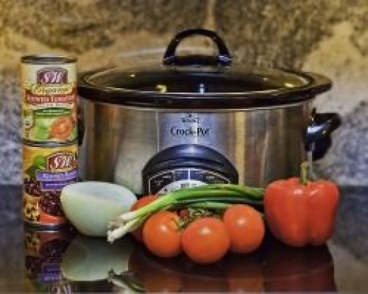 A crock pot and tasty ingredients and you're on your way to a great meal