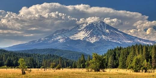 #445 - MOUNT SHASTA NEAR McCLOUD #12 HDR TD (1:2)