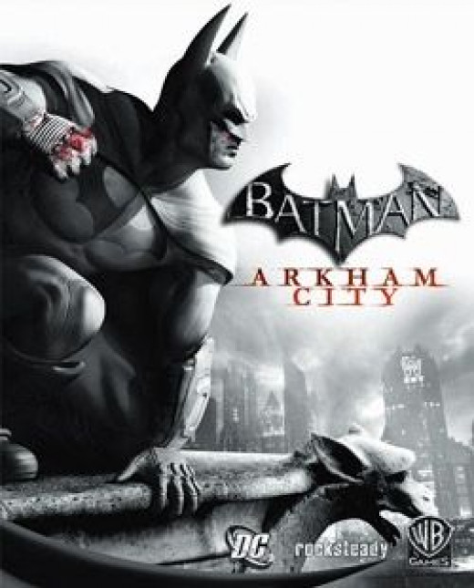 Arkham City box art