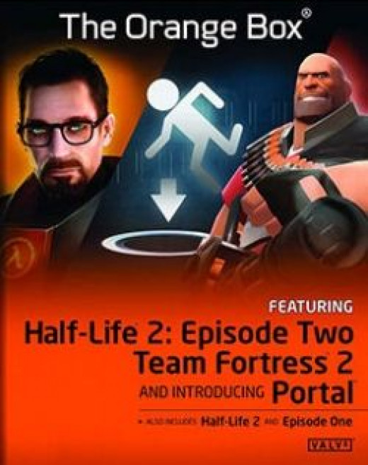 Half Life The Orange Box cover