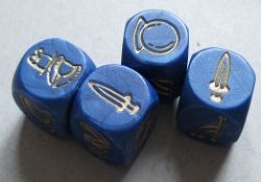 Free People's Player Action Dice