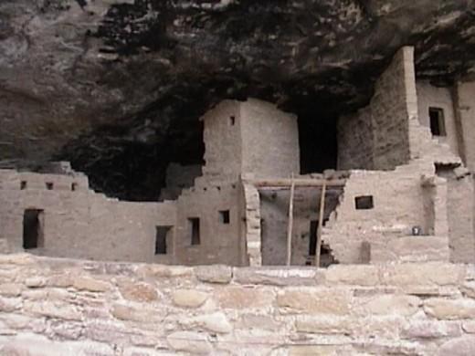 Prehistoric Mesa Verde Cliff Dwelling