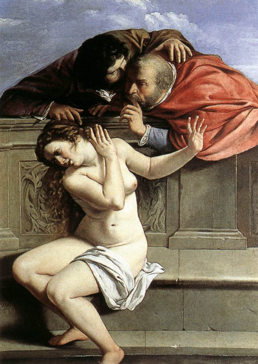 Susanna and the Elders c.1610