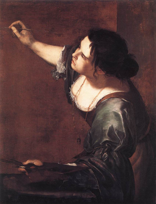 Self Potrait as the Allegory of Painting c.1630