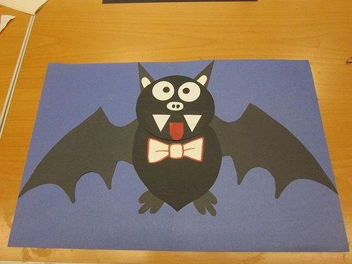 Bat paper craft