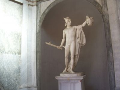 "Antonio Canova ""Perseus with the head of Medusa"" c. 1800, Photo Credit: mypotlpeople"