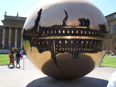 "Arnaldo Pomodoro ""Sphere within a Sphere"", Photo Credit: mypotlpeople"