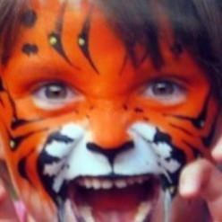 Cat Face Paint Designs