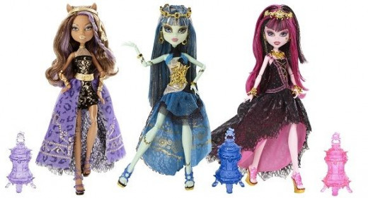 13 wishes party doll