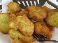 Vegan - Lenten Zucchini balls