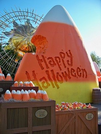 Candy Corn Acres in California Adventure by Loren Javier, on Flickr