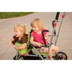 Joovy Caboose Stand On Stroller adjustable back seat