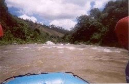 Rafting in the Dominican Republic