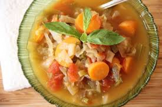 Crash dieting with 7 days of cabbage soup