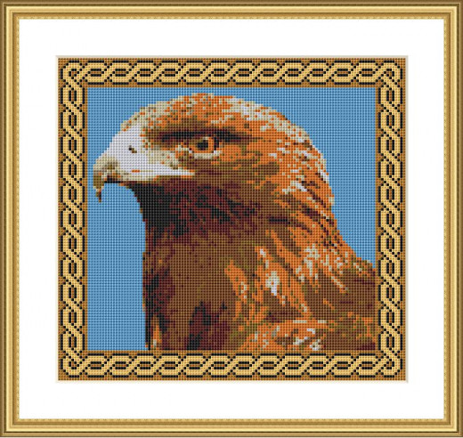 Picture Credit  'Eagle'  - designed by the Author, faeriesong, for celtic-cross-stitch.com