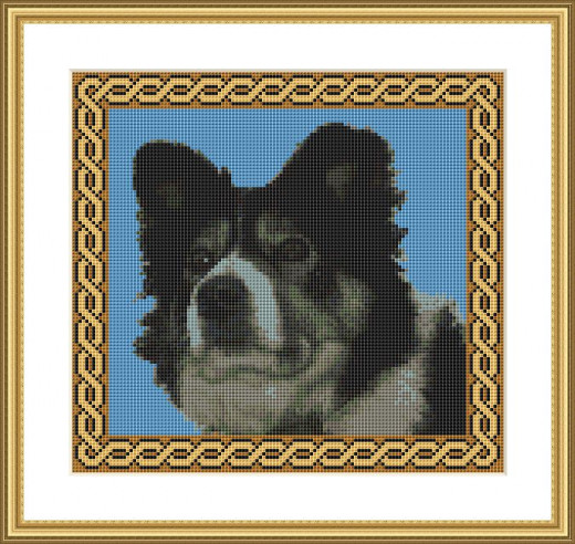 Picture Credit  'Sheepdog'  - designed by the Author, faeriesong, for celtic-cross-stitch.com  Not exactly wildlife, but prevalent on these isles!