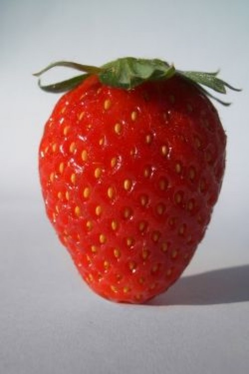 Strawberries are a staple in fruit salad