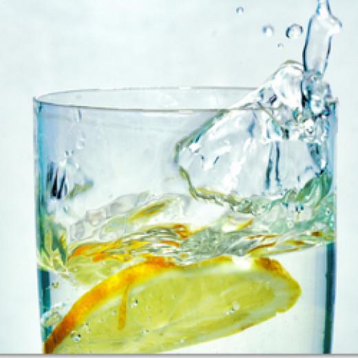 Fresh Lemon and Water