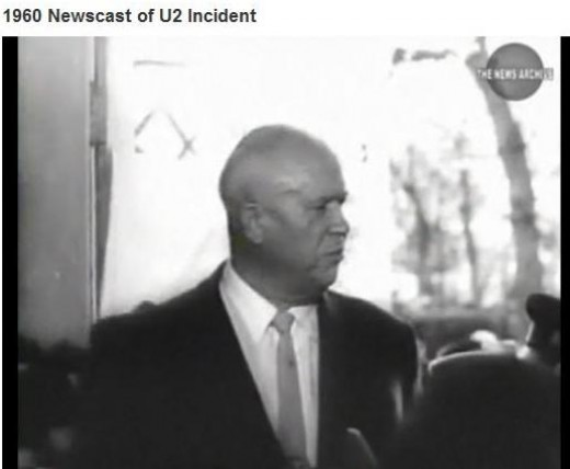 Soviet Premier Nikita Khrushchev (public domain photo from Universal Newsreel / Archive.org)