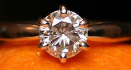 1CT Moissanite Solstice Solitaire Ring