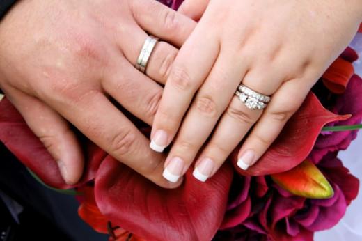 Moissanite Wedding Rings