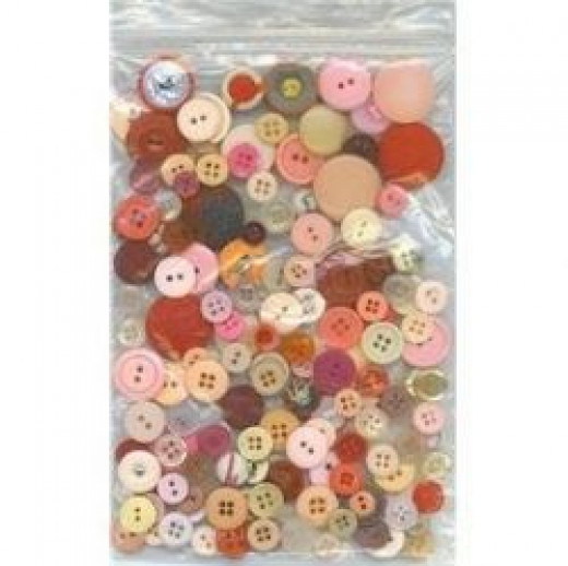 vintage buttons by OrganicGiftsByDiana