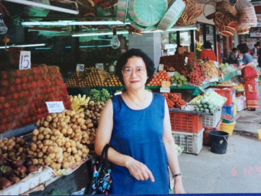 The markets of Pattaya, Thailand