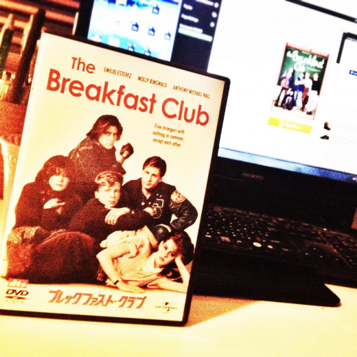 My copy of The Breakfast Club I purchased in Japan and is now one of my most treasured items in my DVD collection.