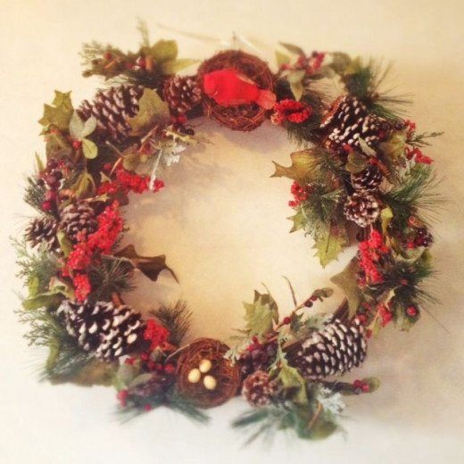 Beautiful Wreath for Christmas