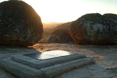 Cecil John Rhodes Grave Matopos Worlds View