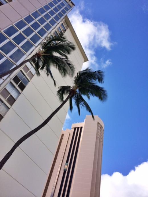 Blue skies await you in Honolulu.