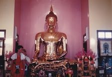 Buda Gold Statue in Bangkok