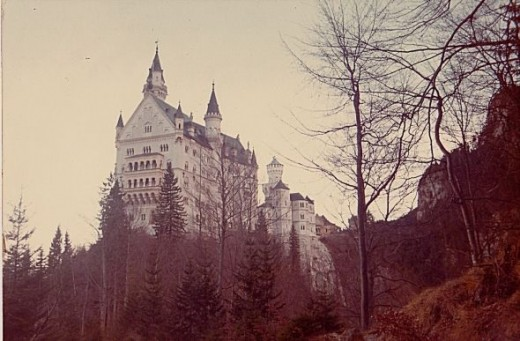 Castle Hohenschwangau in Austria
