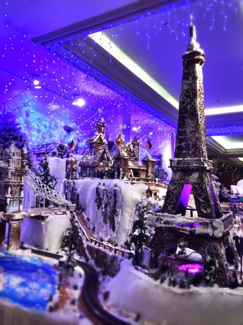 A city built entirely out of gingerbread! Amazing!