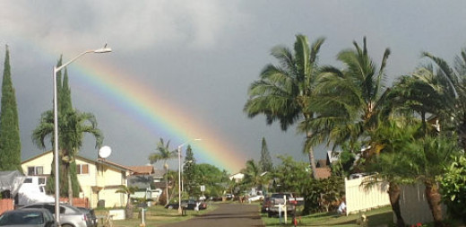 Rainbow Over Kauai