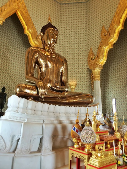 The Golden Buddha is a definitely a sight to see.