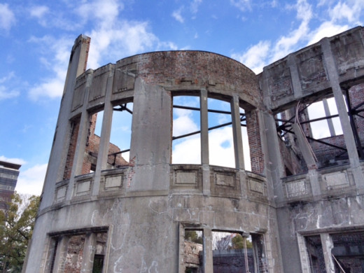 The A-Bomb Dome is on the UNESCO World Heritage List.