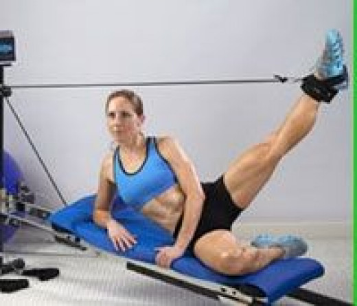 total gym for women, pilates on the total gym