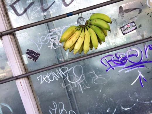 Bananas and graffiti anyone?