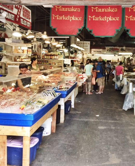 One of the wet markets in Chiinatown.