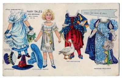 Mother Goose Vintage Paperdoll