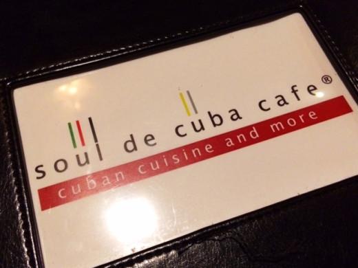 Our first visit to Soul de Cuba.