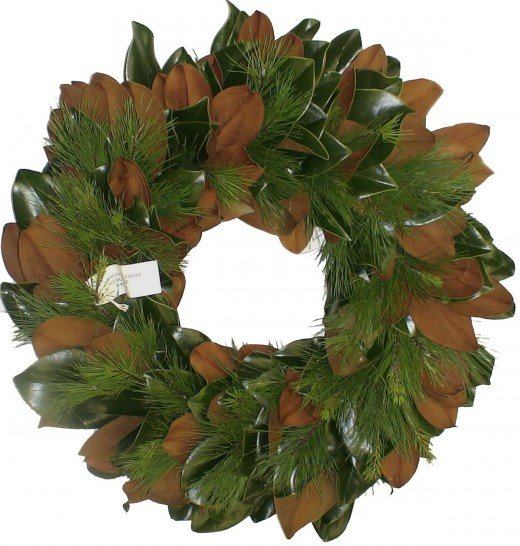 Magnolia Pine Mixed Wreath