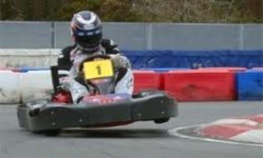 Go Kart At Mansell Raceway