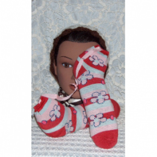 naturally scented shoe sachets to help keep shoes smelling fresh